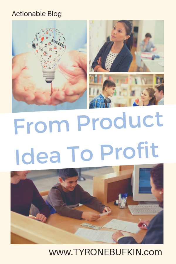 from product idea to profit